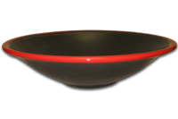 AD matte black with Red gloss rim
