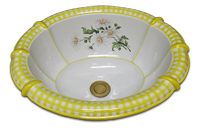/M-42-500-Daisy_deco_w_yellow_gingham