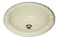 ME self rimming fluted sink 14 1/2 x 17 1/2