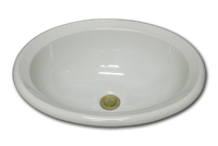 photo ceramic oval sink
