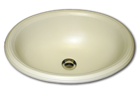 BB oval with reed rim 15 3/4 x 19 1/2