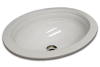 CE oval with flat rim and primary border 15 3/4 x 19 1/2