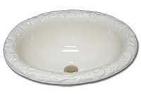 DB-48-100 oval with acanthus rim