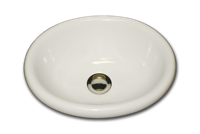 Q oval with round rim