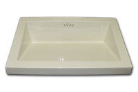 modern rectangle sink