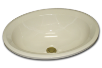 BU oval with chamfered rim 14 3/4 x 18 1/4