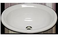 BU oval with chamfered rim 14 3/4 x 18 1/4