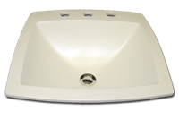 KB-83-100 rectangle with faucet holes