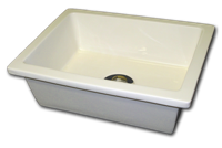 small rectangle sink