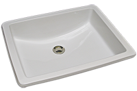 RD-79-100 Rectangle sink with rocker bottom