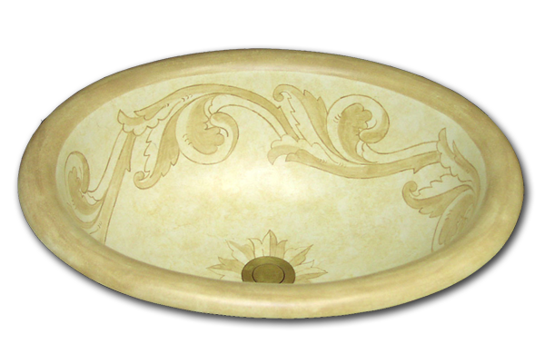 c-faux-400 jerusalem gold with acanthus