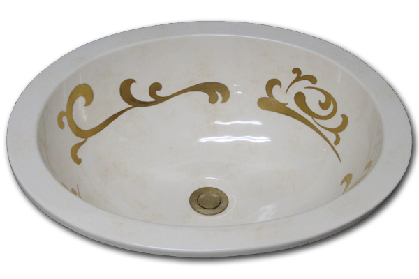 ZU-Faux-600_Antique_Chiaro_w_classic_gold_Scroll