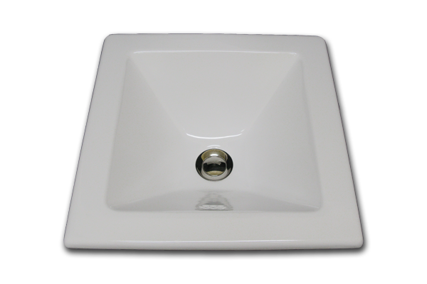 XB square sink 15 x 15