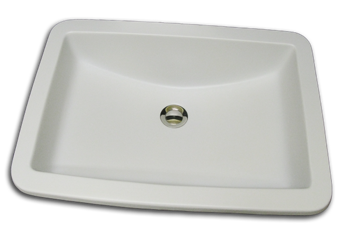 bathroom sink traditional undermount rectangle